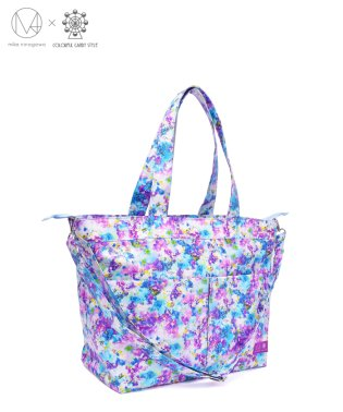 マザーズバッグ 2wayスタイル スイートピー/デルフィニウム 【mika】