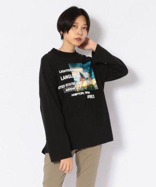 【直営店限定】フォトロゴ ロングスリーブTシャツ/PHOTO LOGO TEE