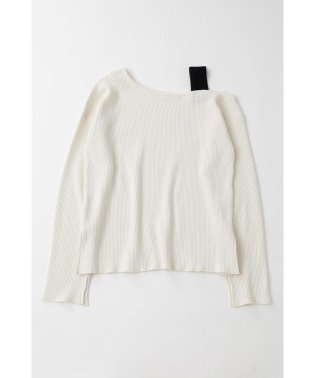 ONE SHOULDER THERMAL L/S トップス