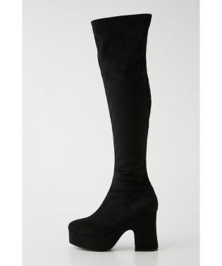 Platform Suede Long Boots