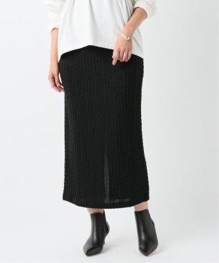 ニットソーナロースカート
