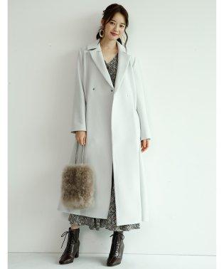 【MAGASEEK/d fashion限定カラー】バックボリュームコート