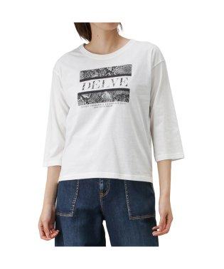 T-GRAPHICS ティーグラフィックス 七分袖 プリントTシャツ 90300NM
