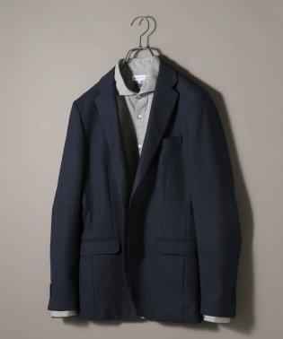 SHIPS JET BLUE: 《洗濯 可能》T/W SOLOTEX セットアップ ジャケット ネイビー
