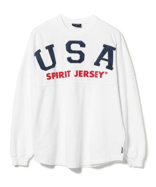 SPIRIT JERSEY × BEAMS / 別注 プリント Tシャツ