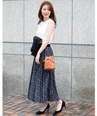 【セットアップ対応商品】クラシカルチェック柄プリーツスカート