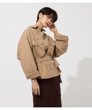 POCKET BELT SHIRT OUTER