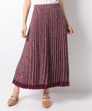 ヴィンテージ小花柄スカート