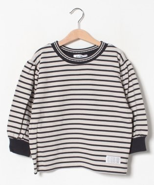 ボーダーボリュームTシャツ
