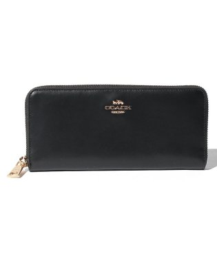 【COACH】Slim Accordion Zip Wallet