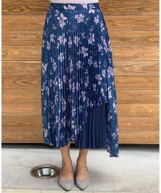 ビンテージフラワープリーツスカート