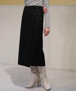 ウールストレッチ 3-wayスカート
