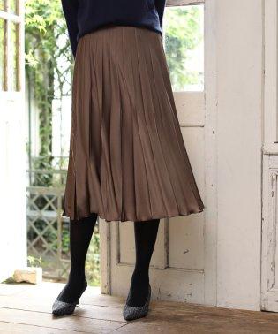 【BAILA 11月号掲載】シルデューサテン スカート