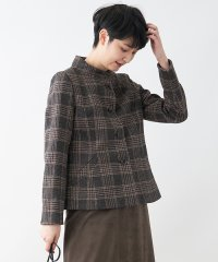 【STORY11月号掲載】【MAGGIA】チェックのジャケット
