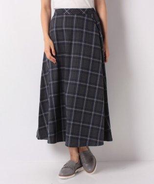 【セットアップ対応商品】チェックフレアスカート