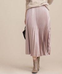【GISELe 2月号掲載】サテンアコーディオンプリーツスカート