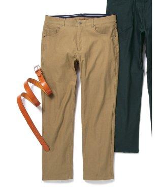 【大きいサイズ】グランバック/GRAND-BACK ストレッチ ヘリンボン5ポケットパンツ