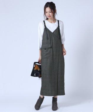[RADIATE]ベルトデザイン ジャンパースカート
