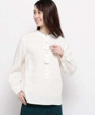 麻コットン(綿)クロスシャツ