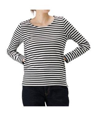 Navy ネイビー 袖口デザイン 長袖Tシャツ NVCW9002
