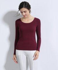 シームレスインナー[AIR COOL] U型Tシャツ 長袖