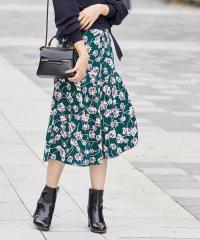 フラワープリントマーメードスカート