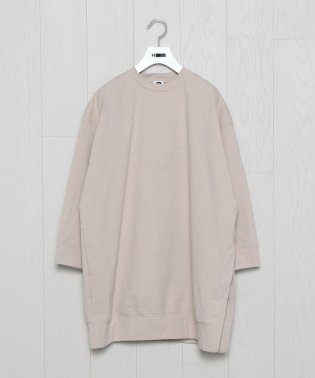 <H>BIG CREW NECK PULLOVER/カットソー