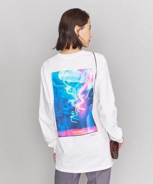 <idilliaco>フォトプリントロングスリーブTシャツ