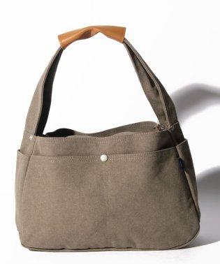 〈MAKE UP/メイクアップ〉Earth Color Bag/アースカラー帆布 ショルダーバッグ S