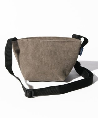 〈MAKE UP/メイクアップ〉Earth Color Bag/アースカラー帆布 舟形ショルダーバッグ
