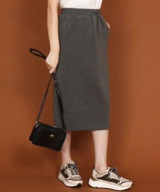 【セットアップ対応商品】SCOTCLUB(スコットクラブ) ドロストスウェットタイトスカート