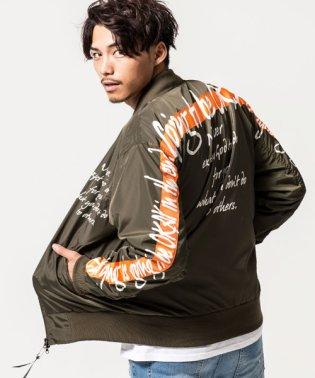 CavariA【キャバリア】バックライン入りMA-1ジャケット