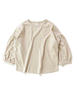 袖バルーン長袖Tシャツ