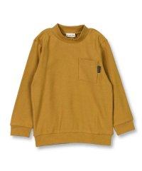 ローゲージ編み長袖Tシャツ