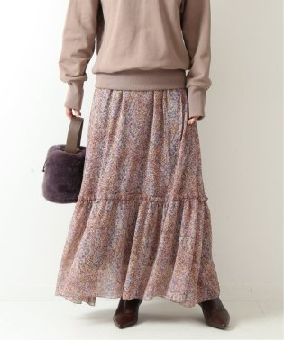 小花ティアードスカート◆