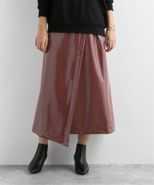 【NEU】パテントレザーラップフウスカート