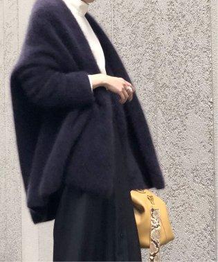 【otona MUSE12月号掲載】《追加2》ラクーンニットオーバーカーディガン◆