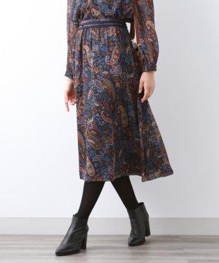 ペイズリープリント スカート