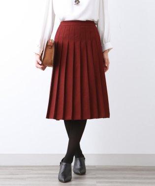 ウーリッシュサージ プリーツスカート