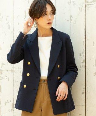 【ムック本掲載・松本穂香さん着用】ダブル ブレザー ジャケット / テーラードジャケット