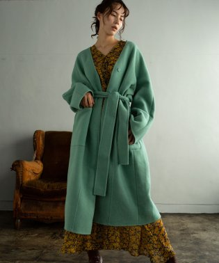 AIRY LONG COAT