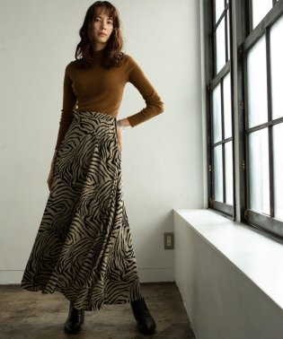 ZEBRA PATTERN SKIRT