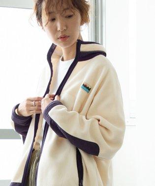 【ムック本掲載】SUNNY SPORTS(サニースポーツ)別注コンビフリースジップアップ(ブルゾン)