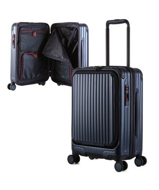 スーツケース 機内持ち込み 35L Sサイズ フロントオープン ストッパー CARGO cat532ly