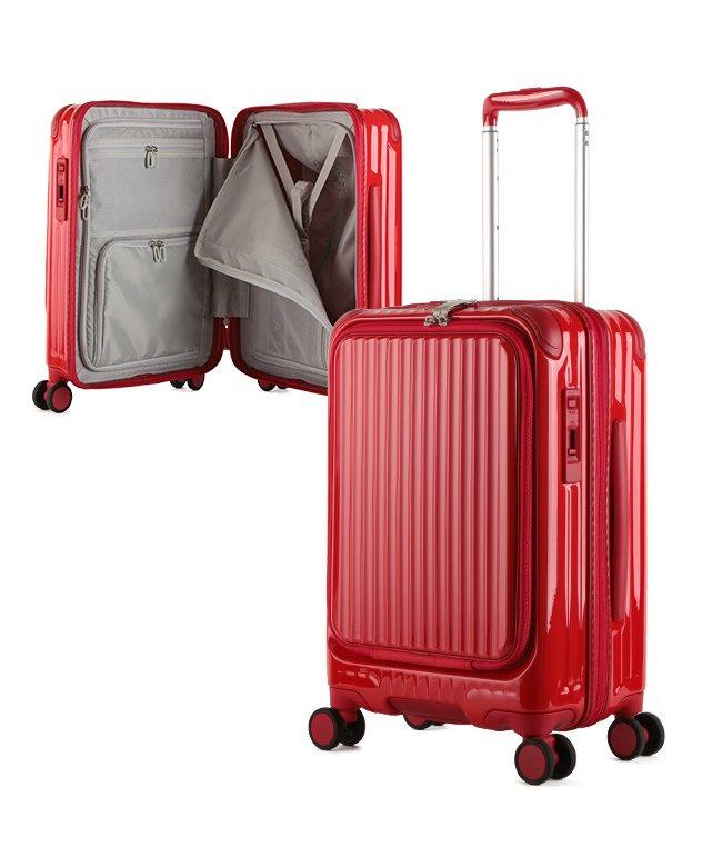 (CARGO/カーゴ)カーゴ エアレイヤー スーツケース 機内持ち込み フロントオープン Sサイズ/35L ストッパー機能 CARGO AiR LAYER cat532ly/ユニセックス レッド