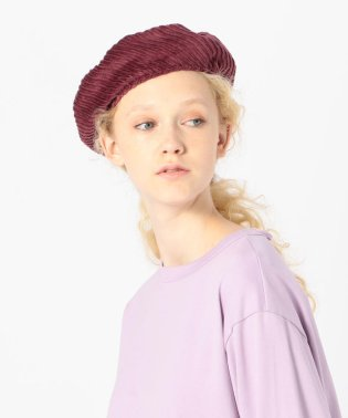 La Maison de Lyllis STONCH コーデュロイ ベレー帽