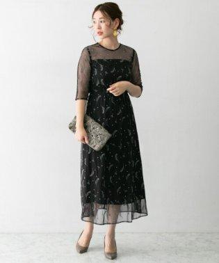 troisiemechaco 刺繍ドレス