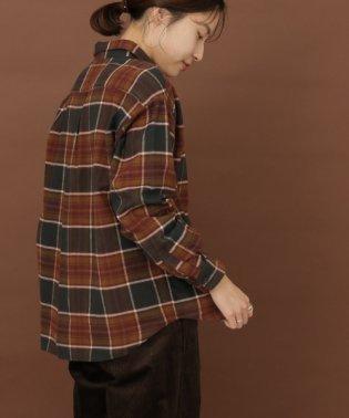 FORK&SPOON ネルチェックシャツ