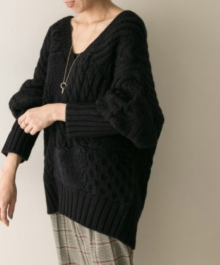 muller of yoshiokubo Boa cable knit