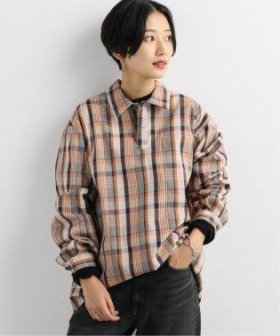 【EFILEVOL/エフィレボル】Check Big Pocket :シャツ